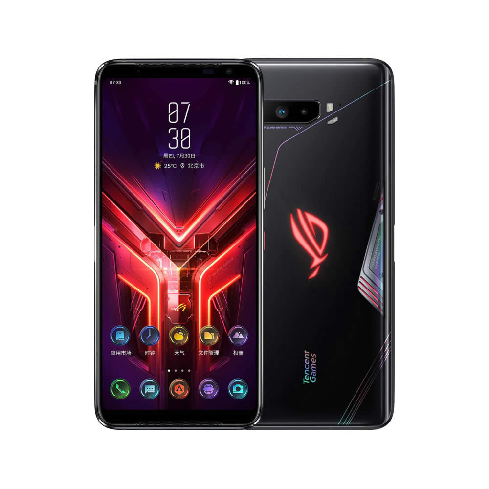 """Smartphone ASUS ROG Phone III - 6.59"""" FHD+ And. 10 Snapdragon 865+ Octa 3.1GHz 128/256/512GB 64MP"""