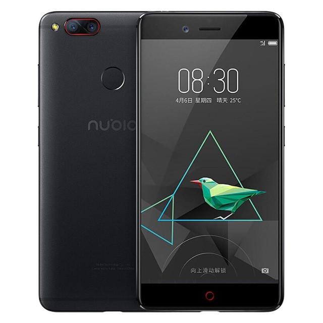 "Smartphone ZTE Nubia Z17 mini - 5.2"" FHD And. 7.1 Snapdragon 652 Octa 1.8GHz 4/64GB 16/13+13MP"