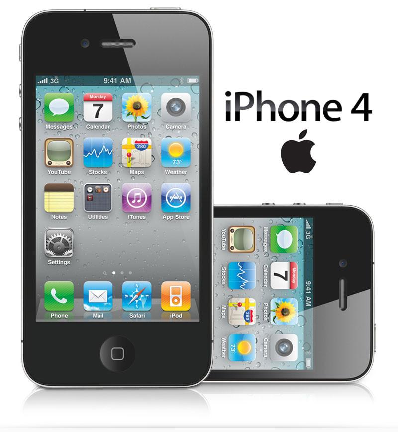 "Smartphone Apple iPhone 4 - 3.5"" 8GB 16GB ou 32GB iOS 6.1.3 1GHz 2x5.0MP"