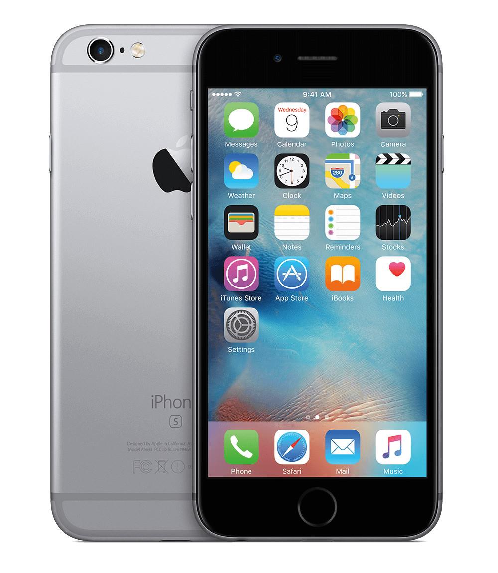 """Smartphone Apple iPhone 6S Plus - 5.5"""" FHD 16/32/64/128GB iOS 9 (10) Dual 1.84GHz 5/12MP SIRI"""