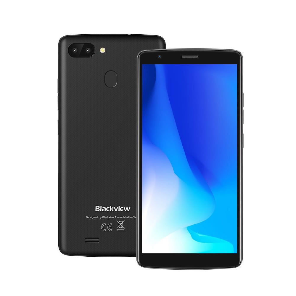"Smartphone Blackview A20 Pro - 5.5"" HD+ And. 8.1 MTK6739 Quad 1.5GHz 2/16GB 5/8MP"