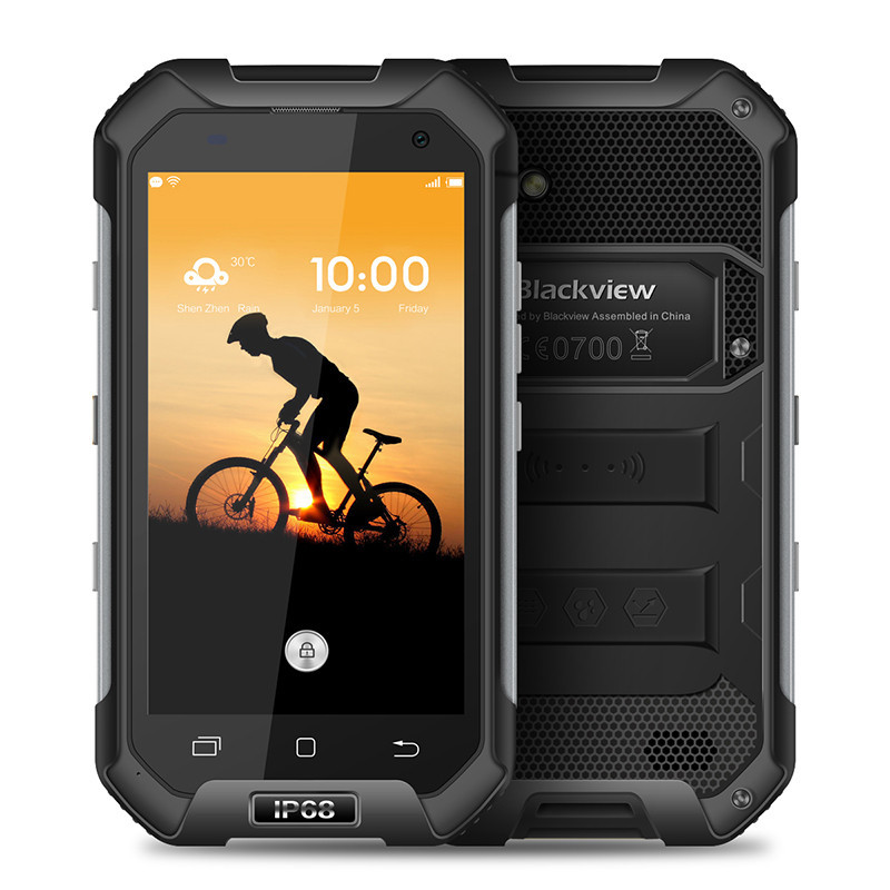 """Smartphone Blackview BV6000s - 4.7"""" HD And. 6.0 MTK6735A Quad 1.3GHz 16GB 2/8MP IP68"""