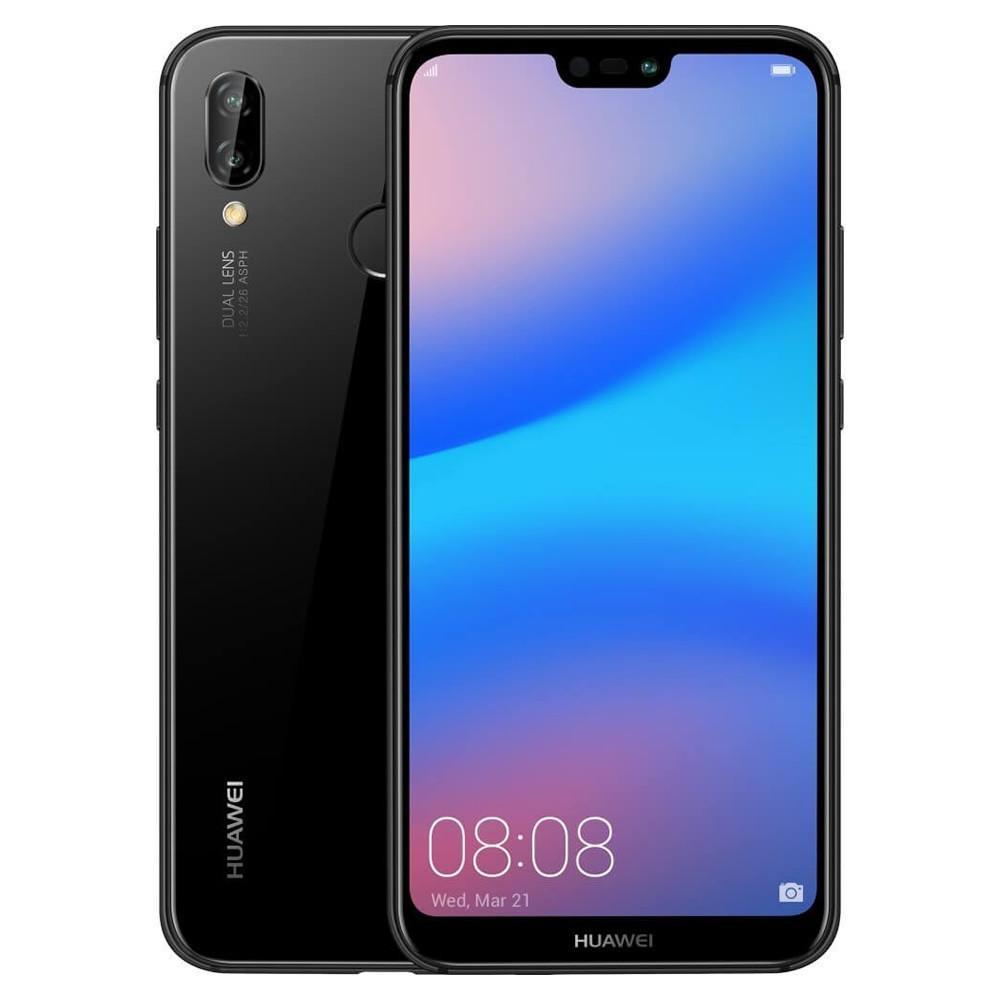 "Smartphone Huawei Nova 3e (P20 lite) - 5.84"" FHD And. 8.0 Kirin 659 Octa 1.8GHz 64/128GB 16/12+12MP"