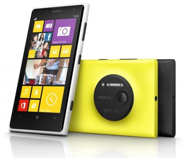 "Smartphone Nokia Lumia 1020 - 4.5"" HD+ Windows 8 Dual 1.5GHz 16GB 2x8.7MP FHD"