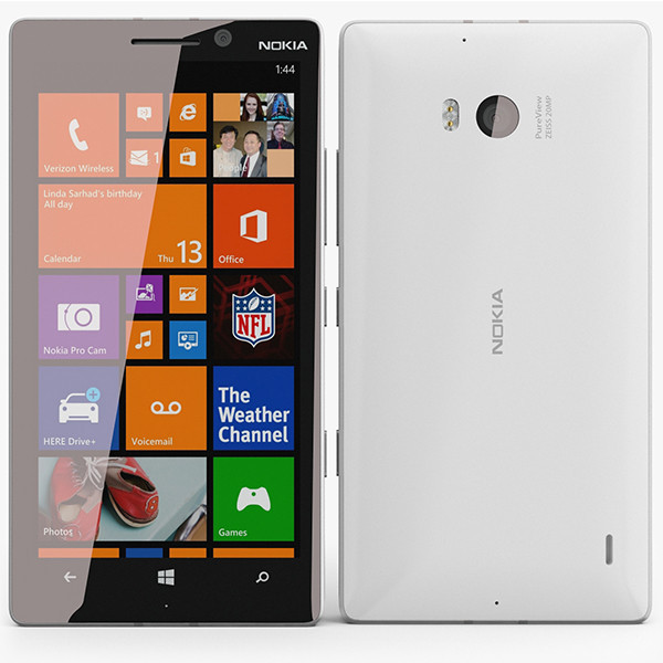 "Smartphone Nokia Lumia 930 - 5.0"" FHD Windows 8.1 (10) Quad 2.25GHz 32GB 1.2/20MP 4K"