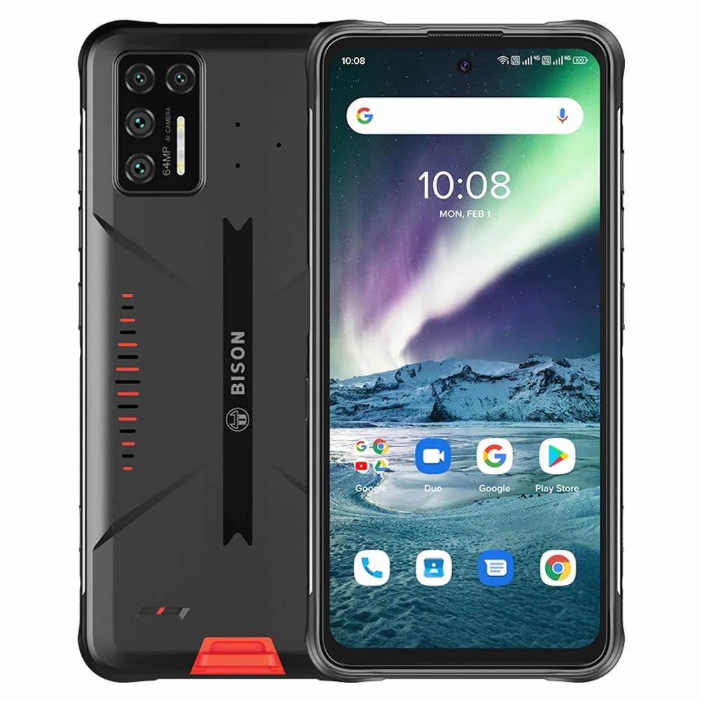 "Smartphone UMIDIGI Bison GT - 6.67"" HD+ And. 10 Helio G95 Octa 2.05GHz 8/128GB 64/32MP IP68"