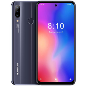 "Smartphone HOMTOM P30 Pro - 6.41"" HD+ And. 9.0 Helio P23 Octa 2.5GHz 4/64GB 13+5+2/8MP"