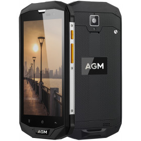 """Smartphone AGM A8 - 5.0"""" HD And. 7.0 Snapdragon 410 Quad 1.2GHz 32/64GB 2.0/13MP IP68"""