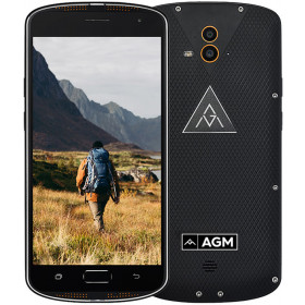"""Smartphone AGM X1 - 5.5"""" FHD And. 7.0 Snapdragon 617 Octa 1.5GHz 4/64GB 5/13+13MP IP68"""