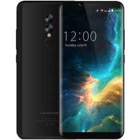 "Smartphone UMIDIGI S2 Lite - 6.0"" HD+ And. 7.0 (8.1) MTK6750T Octa 1.5GHz 4/32GB 5/13+5MP"