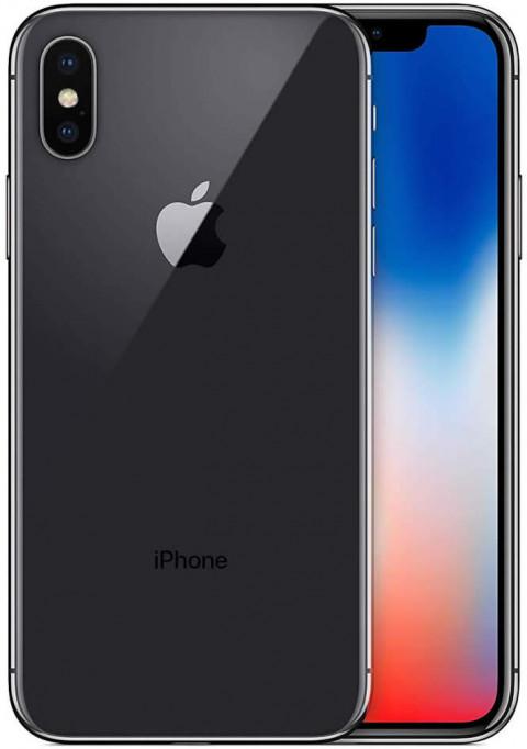 "Smartphone Apple iPhone X - 5.8"" 64/256GB iOS 13 Hexa 2.39GHz 12/7MP SIRI IP67"