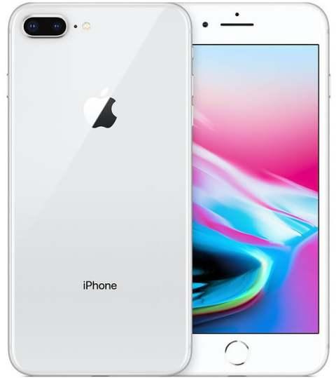 "Smartphone Apple iPhone 8 Plus - 5.5"" FHD iOS 12 Quad 2.39GHz 64/256GB 12/7MP SIRI IP67"