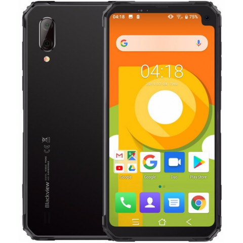 """Smartphone Blackview BV6100 - 6.88"""" HD+ And. 9.0 Helio A22 Quad 2.0GHz  3/16GB 8+0.3/5MP IP68"""