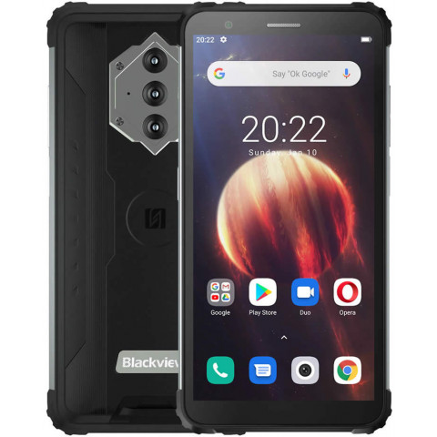 """Smartphone Blackview BV6600 - 5.7"""" FHD+ And. 10 Helio A25 Octa 1.8GHz 4/64GB 13/8MP IP68"""
