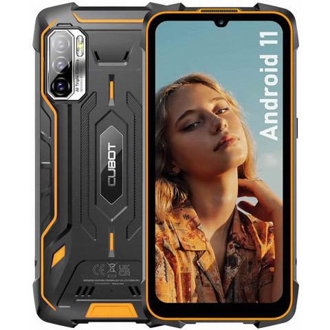 """Smartphone Cubot KingKong 5 Pro - 6.08"""" FHD+ And. 11 Helio P22 Octa 2.0GHz 4/64GB 48/26MP IP68"""