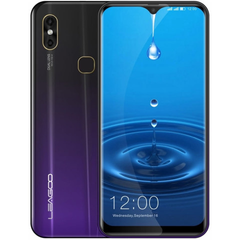 "Smartphone Leagoo M13 - 6.1"" HD+ And. 9.0 Helio A22 Quad 2.0GHz 4/32GB 8+2/5MP"