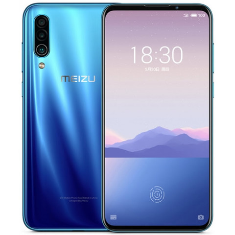 """Smartphone Meizu 16XS - 6.2"""" FHD+ And. 9.0 Snapdragon 675 Octa 2.0GHz 64/128GB 48+5+2/16MP"""