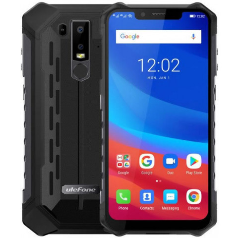 """Smartphone Ulefone Armor 6S - 6.2"""" FHD+ And. 9.0 Helio P70 Octa 2.1GHz 6/128GB 16/8MP IP68"""