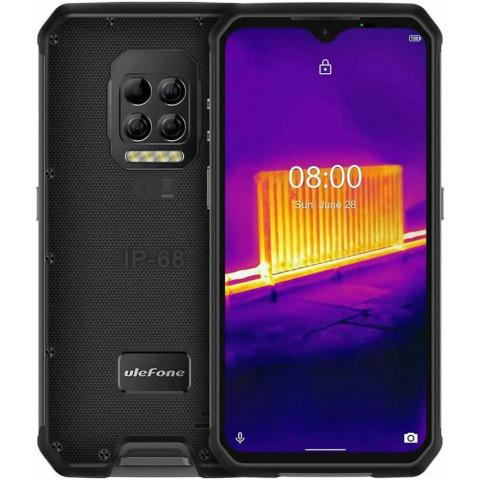 "Smartphone Ulefone Armor 9 - 6.3"" FHD+ And. 10 Helio P90 Octa 2.2GHz 8/128GB 64MP Térmica IP68"