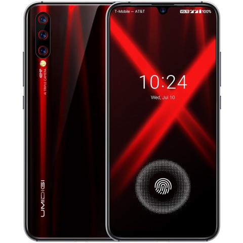 "Smartphone UMIDIGI X - 6.35"" FHD+ And. 9.0 Helio P60 Octa 2.0GHz 4/128GB 48+8+5/16MP"
