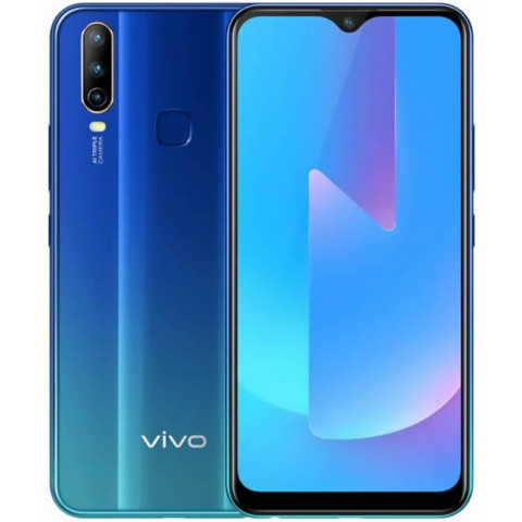 "Smartphone vivo U3X - 6.5"" HD+ And. 9.0 Snapdragon 665 Octa 2GHz 32/64GB 13/8MP"