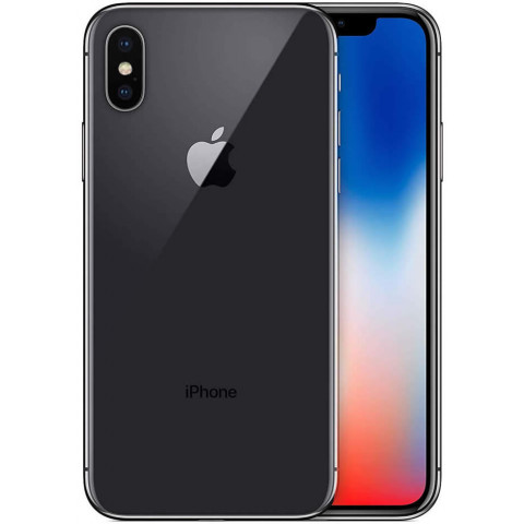 "Smartphone Apple iPhone X - 5.8"" 64/256GB iOS 13 Quad 2.39GHz 12/7MP SIRI IP67"