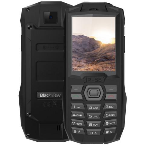 "Celular Blackview BV1000 - 2.4"" MTK6261 Slot 32GB 0.3MP Flash/Lanterna FM Bluetooth IP68"