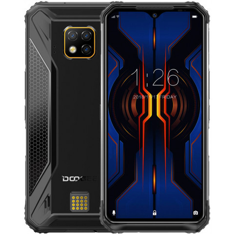 "Smartphone Doogee S95 Pro - 6.3"" FHD+ And. 9.0 Helio P90 Octa 2.2GHz 8/128GB 48+8+8/16MP IP68"