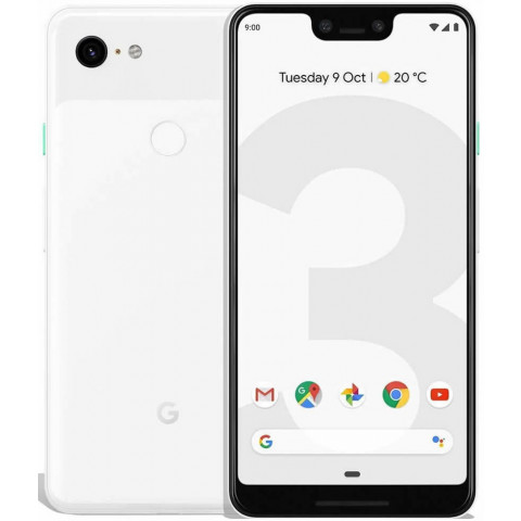 "Smartphone Google Pixel 3 XL - 6.3"" QHD+ And. 10 Snapdragon 845 Octa 2.8GHz 64/128GB 12.2MP IP68"