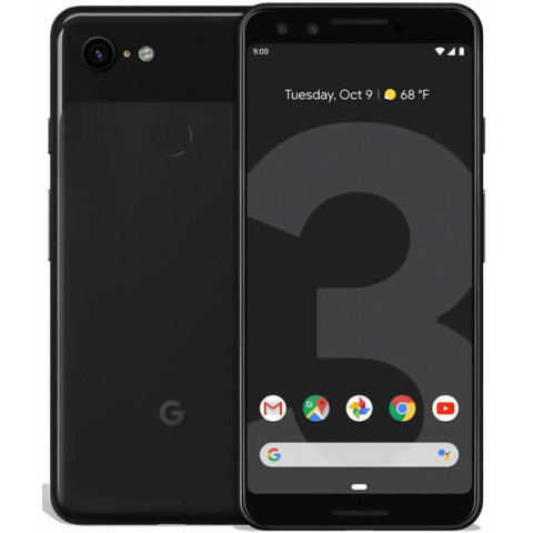 "Smartphone Google Pixel 3 - 5.5"" FHD+ And. 10 Snapdragon 845 Octa 2.8GHz 64/128GB 12.2MP IP68"