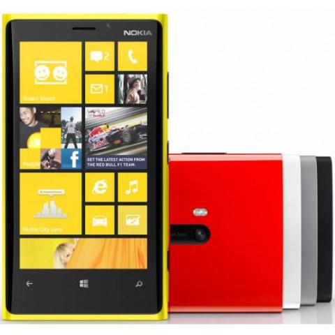 "Smartphone Nokia Lumia 920 - 4.5"" HD+ Windows 8 Dual 1.5GHz 32GB 2x8.7MP FHD"