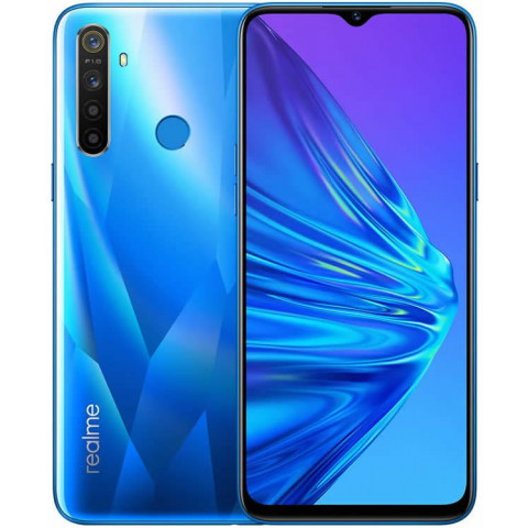"Smartphone Realme 5 - 6.5"" HD+ And. 9.0 Snapdragon 665 Octa 2GHz 64/128GB 12/13MP"