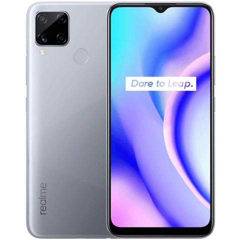"Smartphone Realme C15 - 6.5"" HD+ And. 10 Helio G35 Octa 2.3GHz 4/64GB 18/8MP"