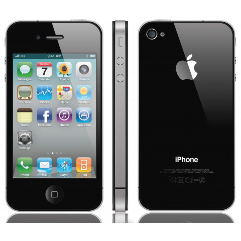 "Smartphone Apple iPhone 4 - 3.5"" 8GB 16GB ou 32GB iOS 6.1.3 1GHz 2x5.0MP"