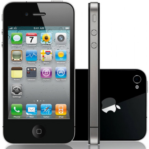 "Smartphone Apple iPhone 4S - 3.5"" 16/32/64GB iOS 6.1.3 Dual 1GHz 2x8.0MP"