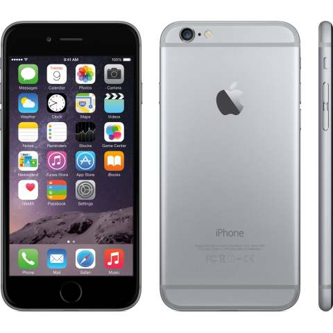 "Smartphone Apple iPhone 6 Plus - 5.5"" 16/64/128GB iOS 10 Dual 1.4GHz 1.2/8.0MP SIRI Apple Pay"