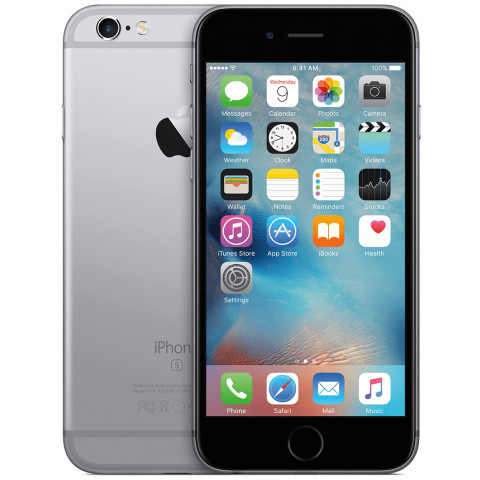 "Smartphone Apple iPhone 6S - 4.7"" HD+ iOS 10 Dual 1.84GHz 16/32/64/128GB 12/5MP SIRI"