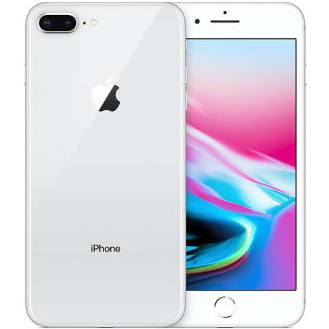 "Smartphone Apple iPhone 8 Plus - 5.5"" FHD iOS 12 Quad 2.39GHz 64/256GB 12/7MP SIRI IP67"