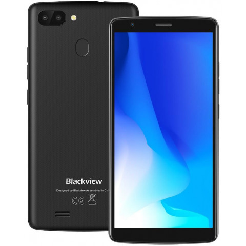 "Smartphone Blackview A20 Pro - 5.5"" HD+ And. 8.1 MTK6739 Quad 1.5GHz 2/16GB 8/5MP"
