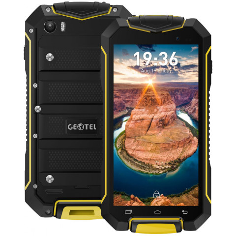 "Smartphone Geotel A1 - 4.5"" And. 7.0 MTK6580A Quad 1.3GHz 8GB 2/8MP IP68"