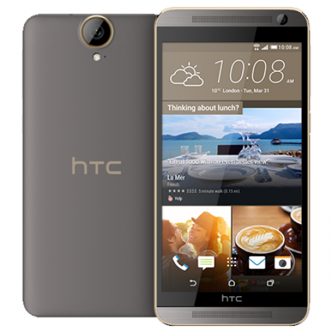 "Smartphone HTC One E9+ - 5.5"" QHD And. 5.0 (6.0) MTK6795M Octa 2.0GHz 3/32GB 13/20MP Dolby"