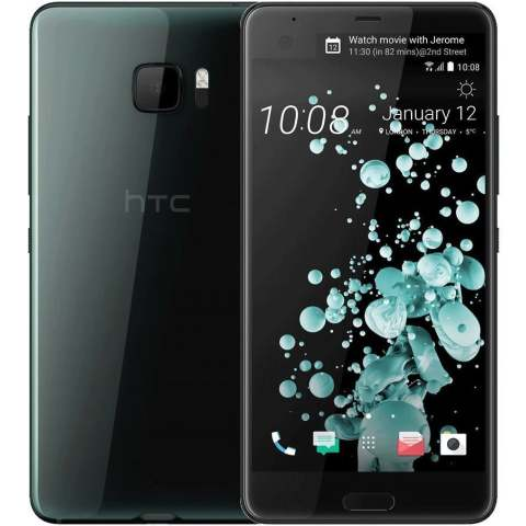 "Smartphone HTC U Ultra - 5.7"" QHD And. 8.0 Snapdragon 821 Quad 2.35GHz 4/64GB 16/12MP"