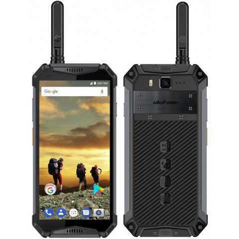 """Smartphone Ulefone Armor 3T - 5.7"""" FHD+ And. 8.1 Helio P23 Octa 2.5GHz 4/64GB 13/21MP Talkie IP68"""