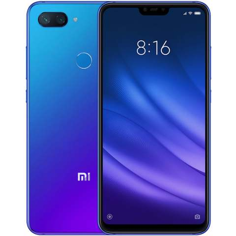 "Smartphone Xiaomi Mi 8 Lite - 6.26"" FHD+ And. 9.0 Snapdragon 660 Octa 2.2GHz 64GB 24/12MP"