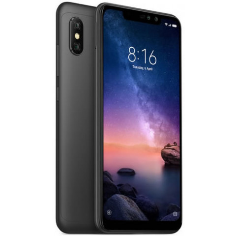 "Smartphone Xiaomi Redmi Note 6 Pro - 6.26"" FHD+ And. 8.0 Snapdragon 636 Octa 1.8GHz 32/64GB 20+2MP"