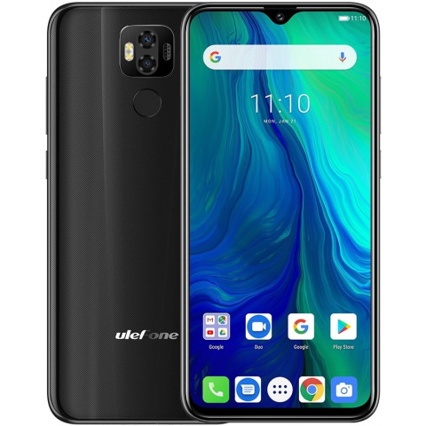 "Smartphone Ulefone Power 6 - 6.3"" FHD+ And. 9.0 Helio P35 Octa 2.3GHz 4/64GB 16/16MP"