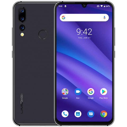 "Smartphone UMIDIGI A5 Pro - 6.3"" FHD+ And. 9.0 Helio P23 Octa 2.5GHz 4/32GB 16/16MP"