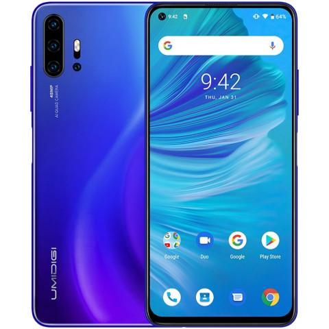 "Smartphone UMIDIGI F2 - 6.53"" FHD+ And. 10 Helio P70 Octa 2.1GHz 6/128GB 48/32MP"