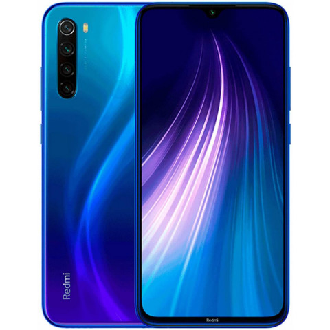 "Smartphone Xiaomi Redmi Note 8 - 6.3"" FHD+ And. 9.0 Snapdragon 665 Octa 2GHz 32/64/128GB 48/13MP"