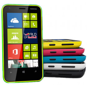 "Smartphone Nokia Lumia 620 - 3.8"" Windows 8 Dual 1.0GHz 8GB 5.0MP HD"
